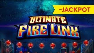BETTER THAN JACKPOT! Ultimate Fire Link Slot - $10 Bet, AWESOME!