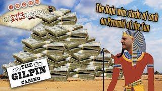 The Raja Wins a Big Jackpot on Pyramid of the Sun •️