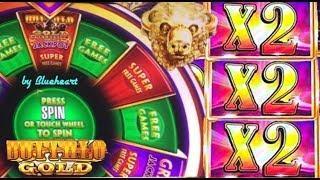 • TALL FORTUNES vs WONDER WHEEL •  BUFFALO GOLD slot machine BONUS WINS!