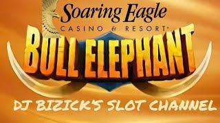 BULL ELEPHANT ★ Slots ★ SLOT MACHINE ★ Slots ★ BONUSES! ★ Slots ★ SOARING EAGLE CASINO, MOUNT PLEASA