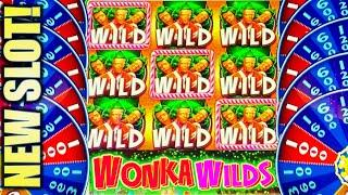 •NEW SLOT! WONKAVATOR!• NEW WILLY WONKA Slot Machine Bonus (SG)