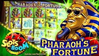 PHARAOH'S FORTUNE LIVE BONUSES 5c IGT Video Slot
