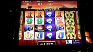 100 Lions Bonus Slot Win at Sands