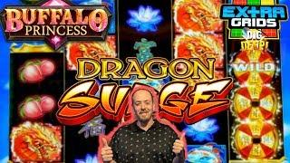 DRAGON SURGE Free Spins | BUFFALO PRINCESS | DIG DEEP | WILD WILD NUGGET