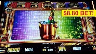 Jackpot Streak Slot $8.80 Max Bet *AWESOME STREAK* Big Win Bonus!