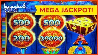 MEGA JACKPOT HANDPAY! Ultra Hot Mega Link Egypt Slot - ALL THE WAY TO THE TOP!
