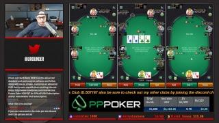PPPoker Cash Game Streaming $60nl-$200nl and my Journey to $1,000,000 Profit (14K so far!)