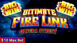 Ultimate Fire Link Slot Machine BIG WIN w/ Max Bet •FANTASTIC SESSION• Live Slot Play & BIG WINS