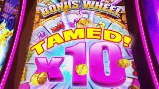 VEGASLOWROLLER FINALLY TAMES HIS NEMESIS SLOT • TIMBER WOLF GRAND