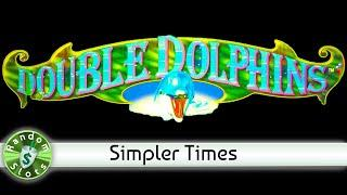 Double Dolphins slot machine, simpler times