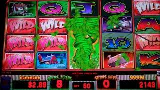 Wild Tornado Slot Machine Bonus - Flip'n Wild Tornado Free Spins Feature - Big Win