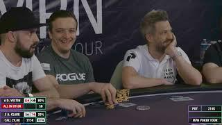 MPN Poker Tour Prague 2019 -  Day 2 highlights