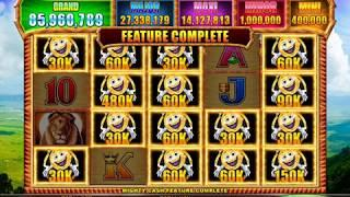 MR CASHMAN CASH SAFARI Video Slot Casino Game with a MIGHTY CASH BONUS