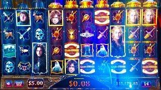 #G2E2016 Aristocrat   NEW Game of Thrones 2 slot machine