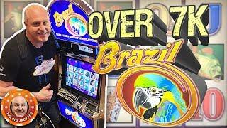 HUGE JACKPOT on BRAZIL! •High Limit Free Games! •| The Big Jackpot