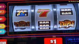 Big Win - 3 ALARM FIRE $1 Slot on Free Play / Double LION  赤富士スロット, カリフォルニア, カジノ, スロット女子, いつでも勝負 USA