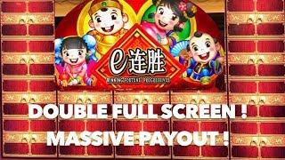 Winning Fortune Progressive 2 Full Screen BIG WINS on MAX BET