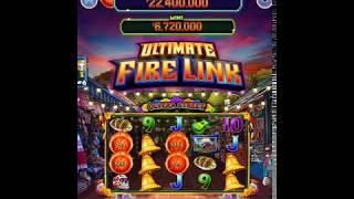 """ULTIMATE FIRE LINK Video Slot Casino Game with a """"BIG WIN"""" FREE LINK BONUS"""