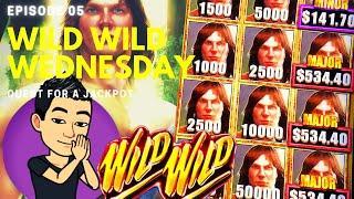 ⋆ Slots ⋆WILD WILD WEDNESDAY!⋆ Slots ⋆ QUEST FOR A JACKPOT [EP 05] ⋆ Slots ⋆ TARZAN GRAND Slot Machi