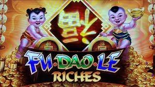 NEW SLOT!  SUPER FUN on FU DAO LE RICHES SLOT MACHINE POKIE BONUSES - PECHANGA CASINO