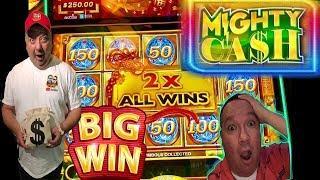 •MIGHTY CASH•BIG WIN•FULL SCREEN WIN•BRILLIANCE OF THE SEAS!!