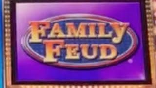 Family Feud SLOT MACHINE •Live Play• Caesars, Las Vegas