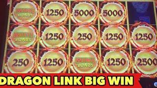 •️DRAGON LINK BIG WIN•️ ULTIMATE FIRE LINK | LIGHTNING LINK AWESOME SLOT BONUS