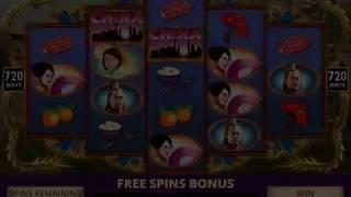 FORBIDDEN FORTUNE Video Slot Casino Game with a LUCKY DRAGON FREE SPIN BONUS