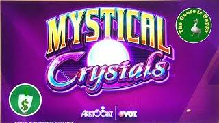 •  Mystical Crystals class II slot machine, big win