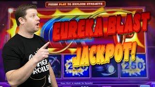 ⋆ Slots ⋆ Lock it Link Eureka Blast Jackpot ⋆ Slots ⋆ $25 Free Spins Boom + High Limit Huff N Puff Slots!