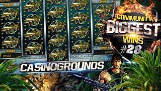 CasinoGrounds Community Biggest Wins #28