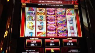 Vegas Fever - Ainsworth Slot Machine Bonus Win