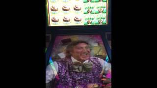 Willy Wonka Pure Imagination Oompa Loompa bonus slot machine