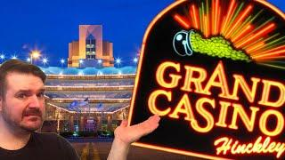 Having A GRAND OLE TIME Playing Slots At GRAND CASINO!