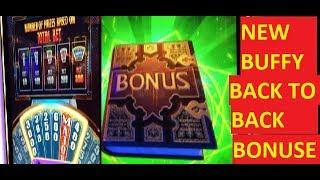 NEW BUFFY THE VAMPIRE SLAYER SLOT!!! BACK TO BACK BONUSES!!!! I AM HAVING A MELTDOWN!!!