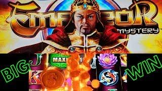 BIG WIN!!100x NEW GAME •EMPEROR MYSTERY•  FREE SPIN! WITH PROGRESSIVES!