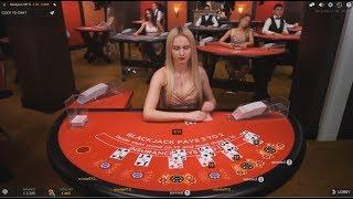 £2000 Vs Live Dealer Casino High Stakes Blackjack