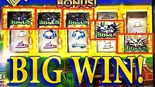 *RARE* 5-SYMBOL BONUS TRIGGER!! • WINNING & MORE WINNING! •  BRENT SLOTS