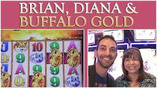 •  BUFFALO GOLD with Brian & Diana • SPINNING • SATURDAYS • Slot Machine Pokies