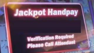 12 MINUTES OF COYOTE MOON HIGH LIMIT Slots w/Jackpot Bonus Handpay