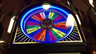 Wheel of Fortune Slot Machine ~ BIG WHEEL SPINS! ~ BIG WIN! ~ MAX BET ~ Bay Mills Casino! • DJ BIZIC