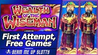 Wealth of the Wiseman Slot - TBT Free Spins Bonus with Nudging Wilds