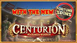 NEW Centurion with £2 FORTUNE SPINS !!!