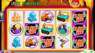 """HOT HOT PENNY PLANET LOOT Penny Video Casino Game with a """"BIG WIN"""" FREE SPIN BONUS"""