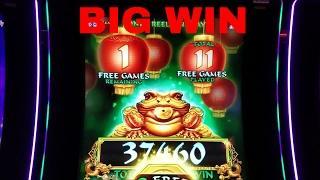 Zhen Chan Slot Machine Bonus Big Win!!! $5.58 Bet