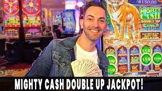 ★ Slots ★ My BIGGEST Mighty Cash DOUBLE UP JACKPOT! ★ Slots ★ $22/BET HANDPAY ★ Slots ★ Agua Calient