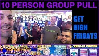 •  Laughlin HIGH LIMIT Group Pull• $25Wheel of Fortune + Sun&Moon++ • High Limit Slots EVERY FRIDAY