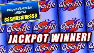MASSIVE JACKPOT WINS ON QUICK HIT PROGRESSIVE SLOT MACHINE ⋆ Slots ⋆  ⋆ Slots ⋆ HIGH LIMIT SLOT ACTION!