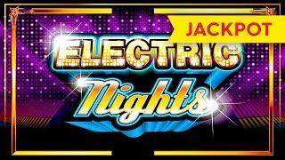 JACKPOT HANDPAY! Electric Nights Slot - INCREDIBLE RETRIGGERS!