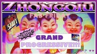 •GRAND PROGRESSIVE HANDPAY • ZhongQiu • This VIDEO is SPONSORED by HEART of VEGAS  ~ Bally's